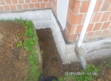 odkopanie odsłonięcie fundamentu