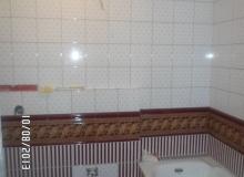 Niestandardowe wykończenie łazienki