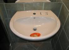 Osadzanie umywalki ceramicznej
