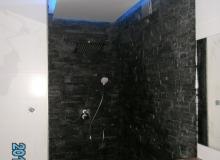 Realizacja oświetlenia kabiny prysznicowej