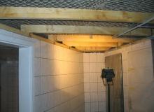Realizacja stropu w łazience