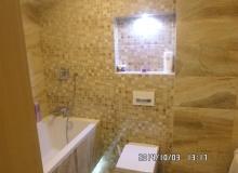 Profesjonalne wykończenie niedużej łazienki