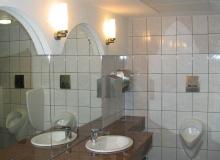 Profesjonalne wykończenie toalety publicznej