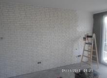 malowanie cegły ozdobnej gipsowej