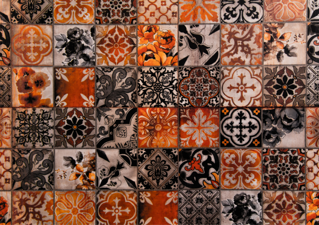 plytki marokanskie w salonie 1024x724 Kraków